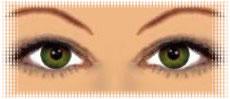كيف تختارين لون العدسات اللاصقة!! yeuxmarronclair_vert.jpg